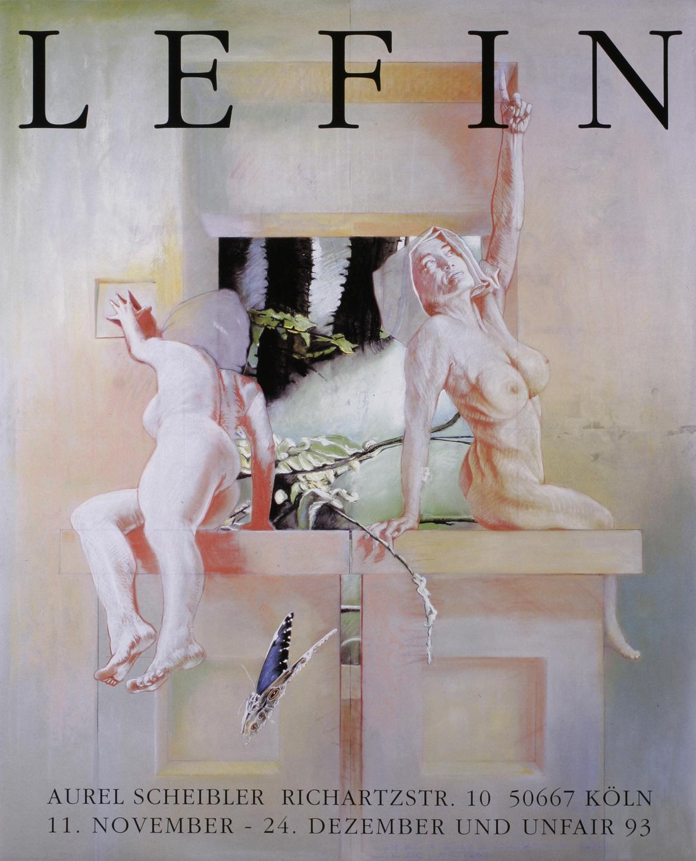 Udo Lefin | Ausstellungsplakat