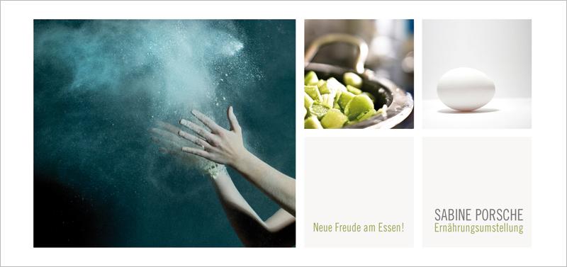 Sabine Porsche   Ernährungsumstellung   Postkarte