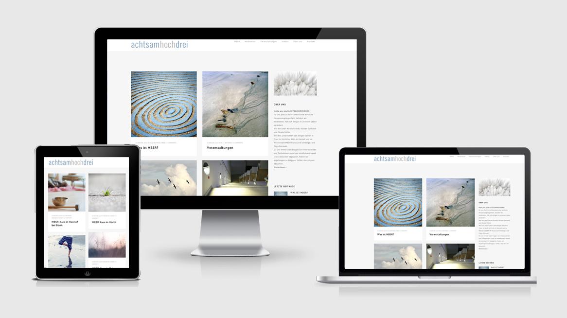 grafik design köln - susanne breuer -achtsam hoch drei mbrs- webdesign