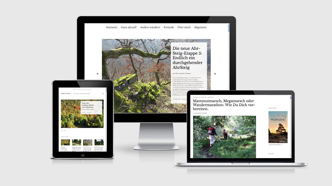 grafik design köln - susanne breuer -anders wander- webdesign